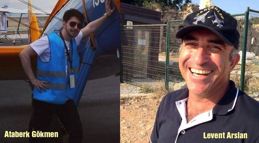 Düşen eğitim uçağının pilotu Levent Arslan ve öğrenci Ataberk Gökmen yaşamını yitirdi