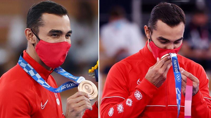 Ferhat Arıcan bronz madalya ile… | Foto: Reuters