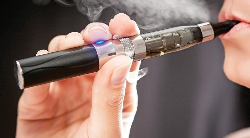 Elektronik sigaralardaki tehlike